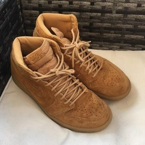 Jordan 1 Retro High Wheat Sz 10